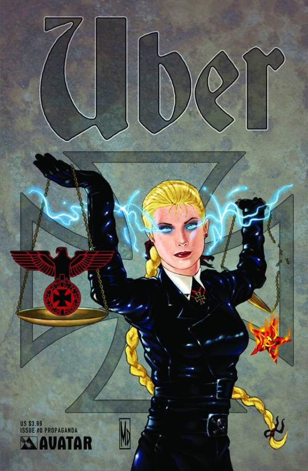 Über #0 (Propaganda Poster Cover)