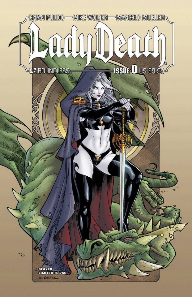 Lady Death #0 (Slayer Cover)