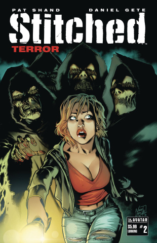Stitched: Terror #2 (Lurking Cover)