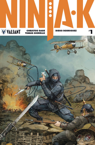 Ninja-K #1 (20 Copy Interlock Rocafort Cover)