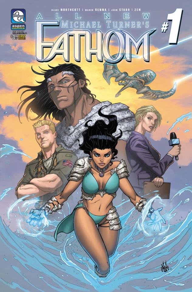 All New Fathom #1 (Renna Cover)