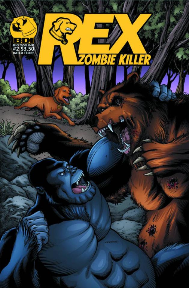 Rex: Zombie Killer #2