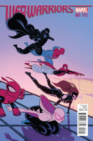Web Warriors #1 (Moore Cover)