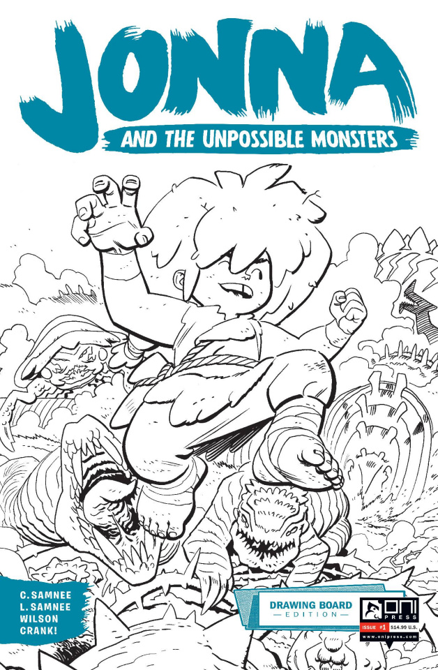 Jonna and the Unpossible Monsters #1 (Drawing Board Edition)