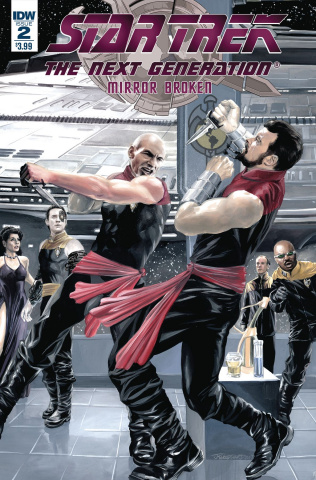 Star Trek: The Next Generation - Mirror Broken #2