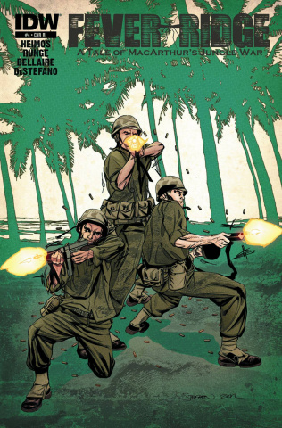 Fever Ridge: A Tale of MacArthur's Jungle War #4