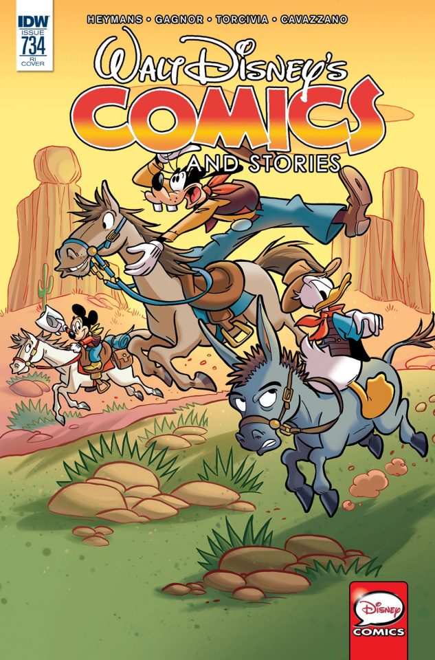 Walt Disney's Comics and Stories #734 (10 Copy Cover)