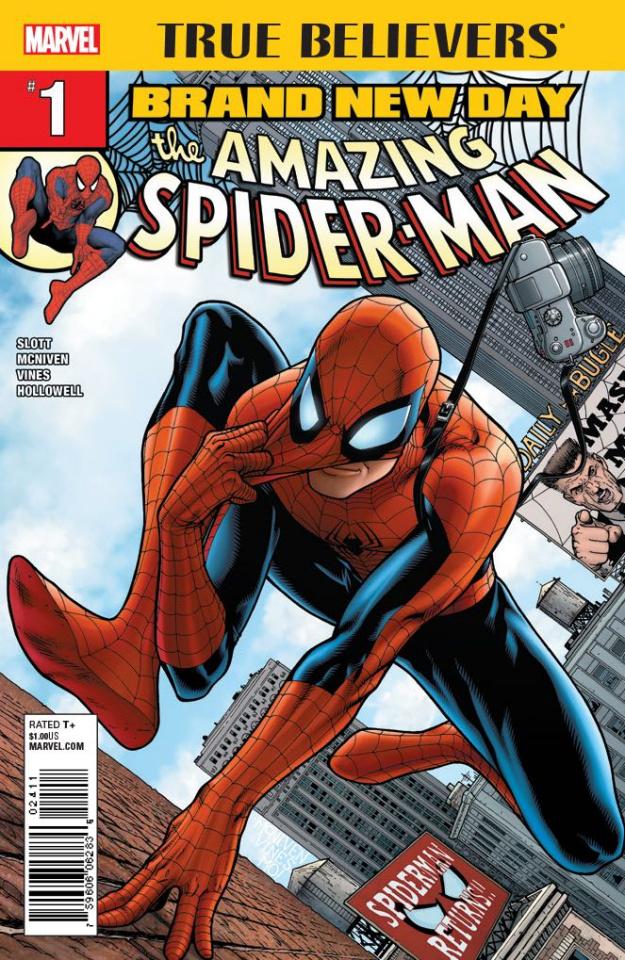 Spider-Man: Brand New Day #1 (True Believers)