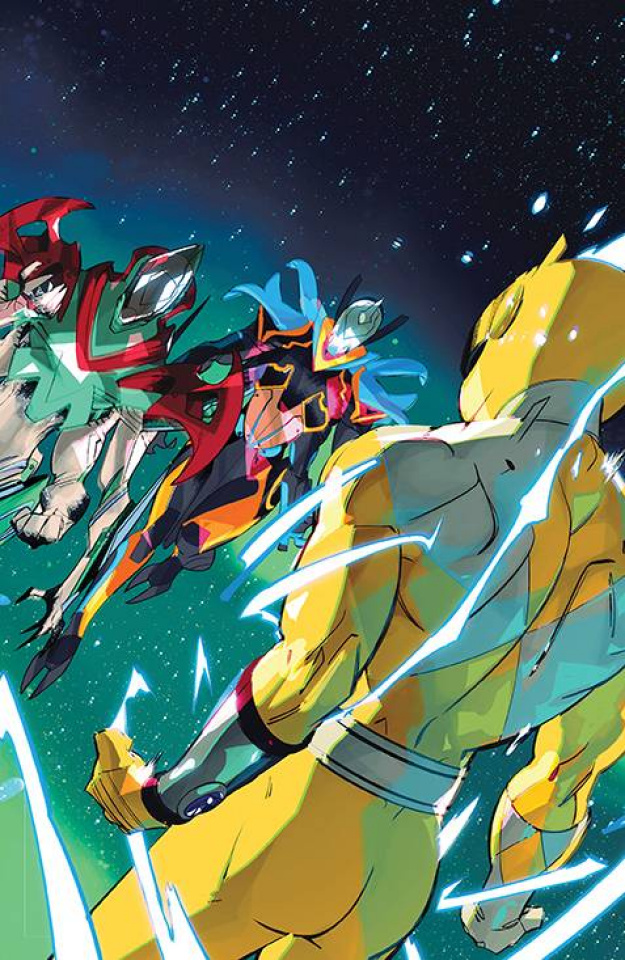 Power Rangers #11 (15 Copy Di Nicuolo Cover)
