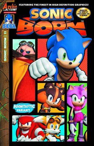 Sonic Boom #11 (Sega Cover)