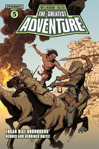 The Greatest Adventure #5 (Smallwood Cover)