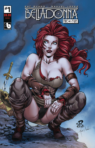 Belladonna: Fire and Fury #1 (Lucious Cover)