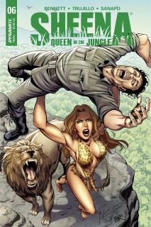 Sheena #6 (Santucci Cover)