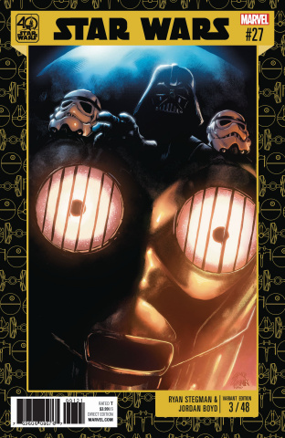 Star Wars #27 (Star Wars 40th Anniversary Cover)