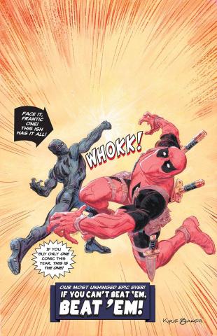 Black Panther vs. Deadpool #5 (Baker Cover)