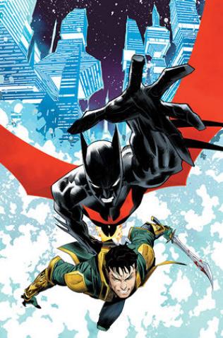 Batman Beyond #45 (Dan Mora Cover)