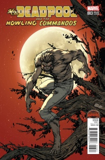 Mrs. Deadpool and The Howling Commandos #3 (Howling Cover)