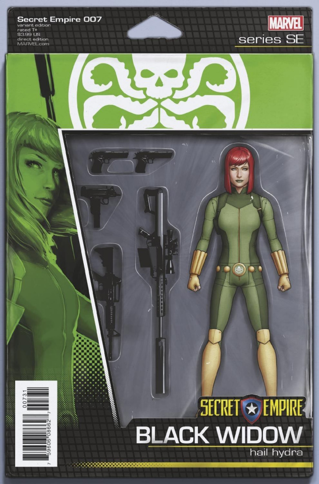 Secret Empire #7 (Christopher Action Figure Cover)