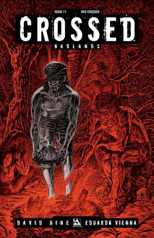 Crossed: Badlands #17: Red Crossed Cover