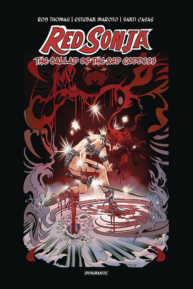 Red Sonja: The Ballad of the Red Goddess (Thomas Signed Edition)
