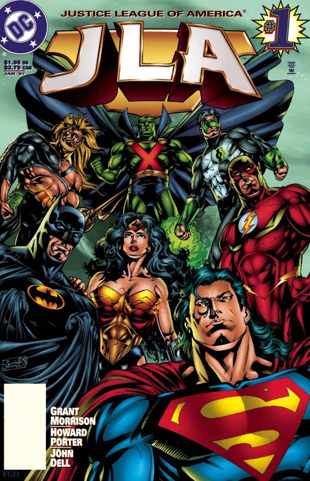 JLA #1 (DC Comics Essentials)
