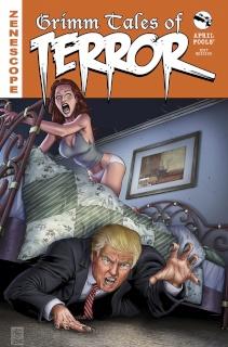 Grimm Tales of Terror 2017 April Fools' (Spay Cover)