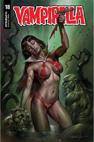 Vampirella #18 (Parrillo CGC Graded Cover)
