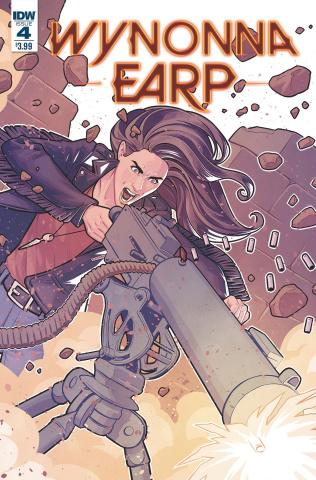 Wynonna Earp, Season Zero #4 (Evenhuis Cover)