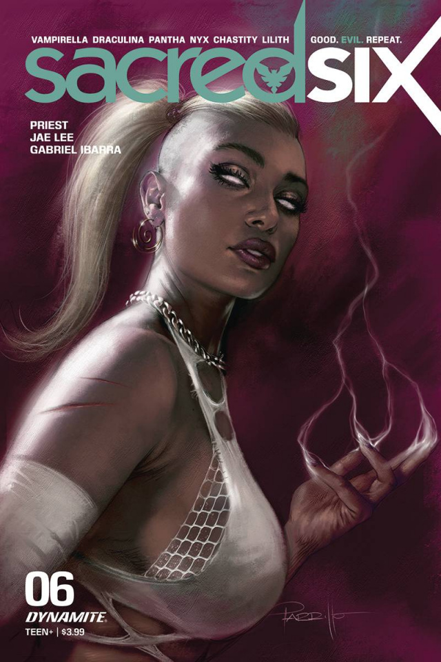 Sacred Six #6 (Parrillo Cover)