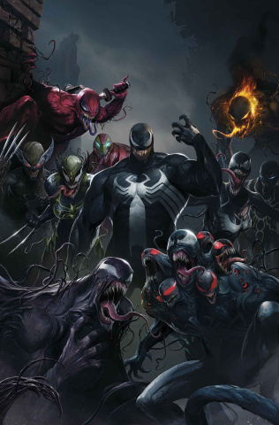 Edge of Venomverse #1 (Mattina Teaser Cover)