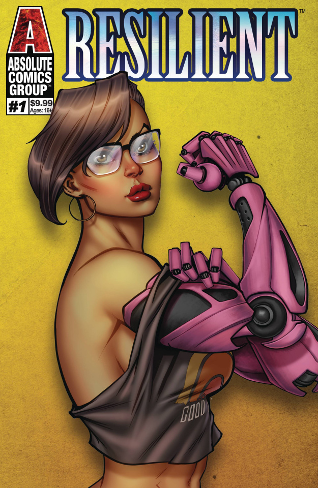 Resilient #1 (Ale Garza Metallic Ink Cover)