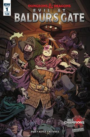 Dungeons & Dragons: Evil At Baldur's Gate #1 (Kotz Cover)