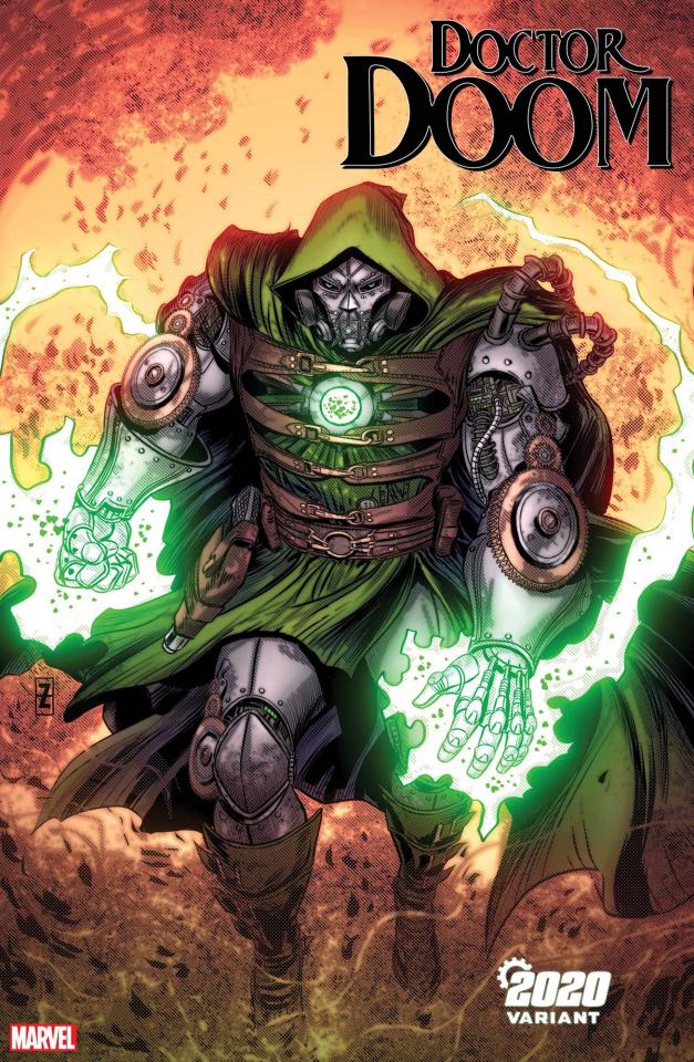 Doctor Doom #3 (Zircher 2020 Cover)