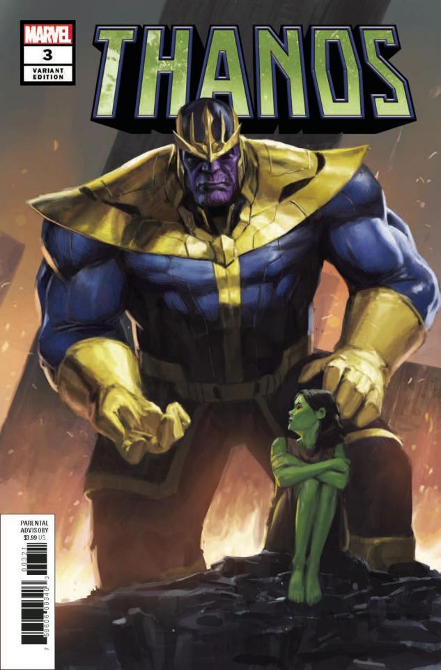 Thanos #3 (Pyeong Jun Park Cover)