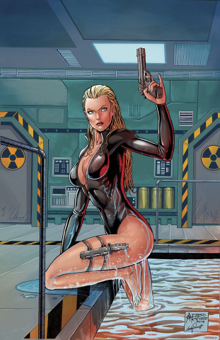 Grimm Fairy Tales: Red Agent - The Human Order #3 (Reyes Cover)