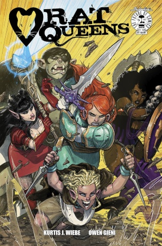 Rat Queens #1 (Gieni Cover)