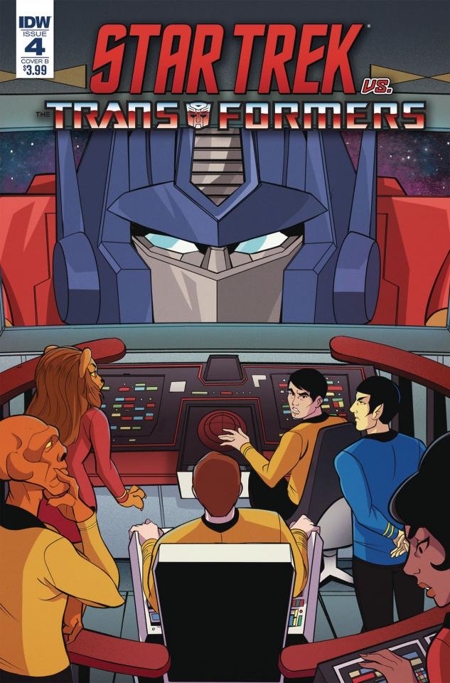 Star Trek vs. The Transformers #4 (Tramontano Cover)