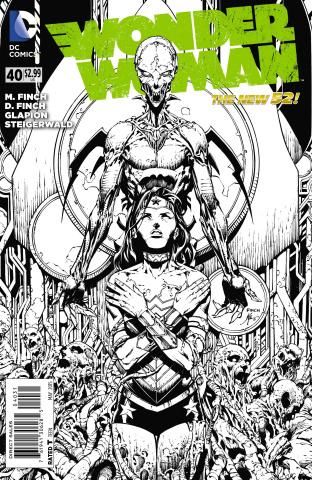 Wonder Woman #40 (Black & White Cover)