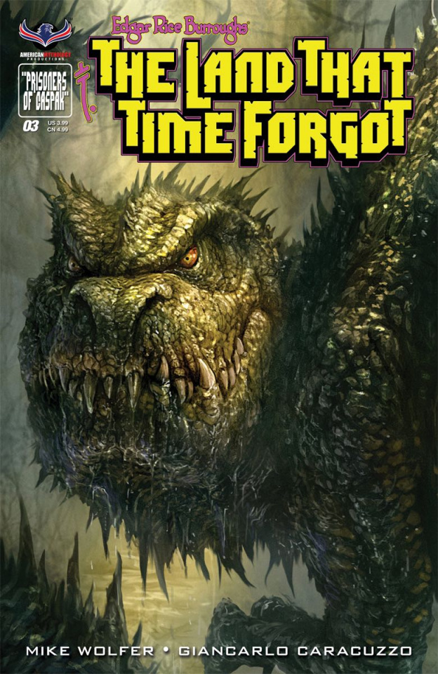 The Land That Time Forgot #3 (Painted Cover)
