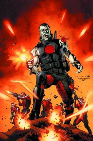 Bloodshot & H.A.R.D. Corps #18 (Larosa Cover)