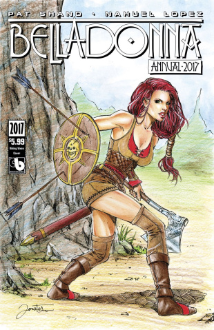 Belladonna Annual 2017 (Viking Vixen Cover)