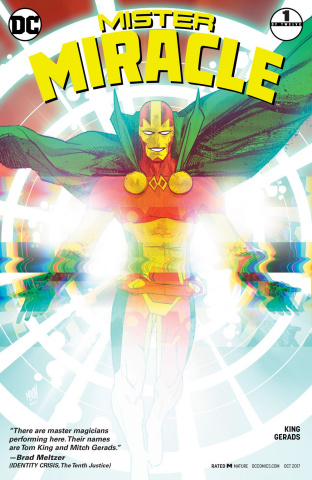 Mister Miracle #1 (Variant Cover)