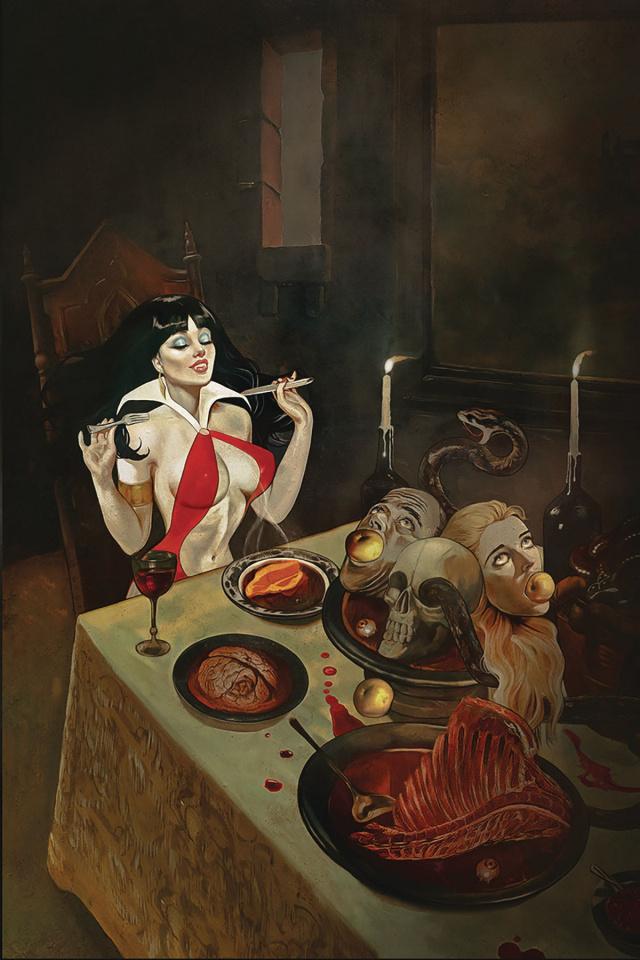 Vampirella #9 (Dalton Virgin Cover)