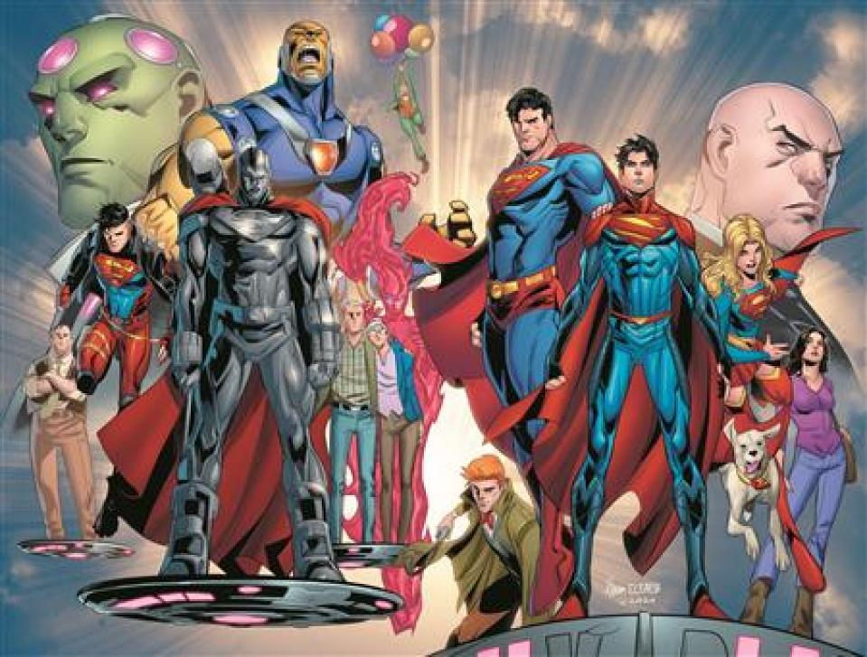 Superman #29 (John Timms Wraparound Cover)