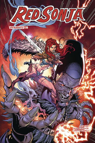 Red Sonja #20 (Royle Cover)