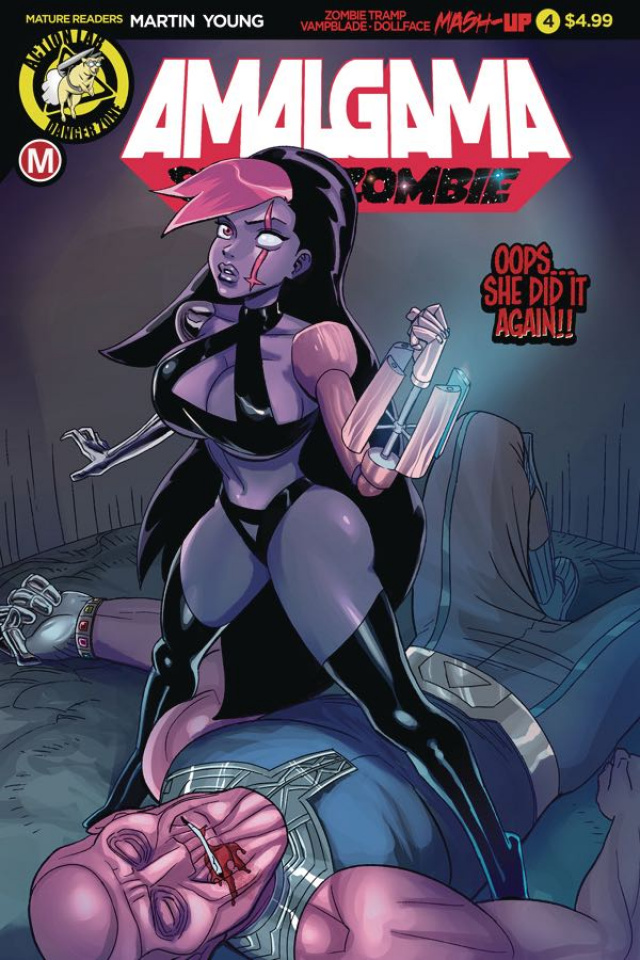 Amalgama: Space Zombie #4 (Young Cover)