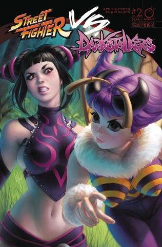 Street Fighter vs. Darkstalkers #2 (20 Copy Cover)