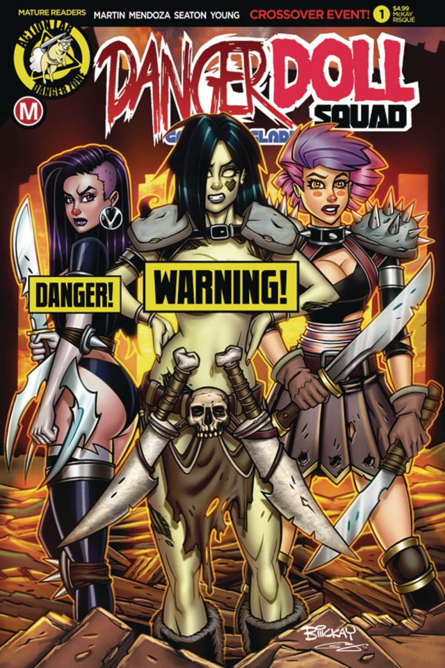Danger Doll Squad: Galactic Gladiators #1 (McKay Risque Cover)