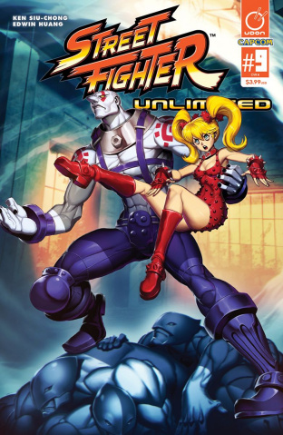 Street Fighter Unlimited #9 (Genzoman Story Cover)