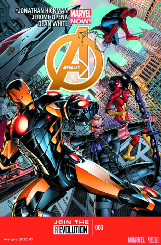 Avengers #3 (2nd Printing)